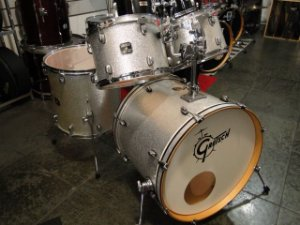 BATERIA GRETSCH CATALINA BIRCH SILVER SPARKLE (SHELL PACK)