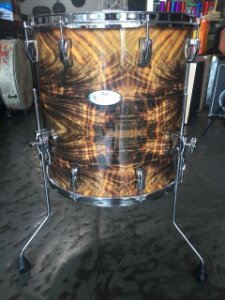 "SURDO PEARL VISION 16""X16"" VML Maple Feather Walnut"