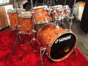 Bateria Sonor Ascent Beech Shell (8'',10'',12'',14'',16'',20'' + Caixa 14'')