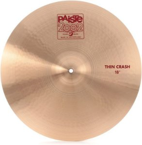 PRATO PAISTE 2002 THIN CRASH 18''