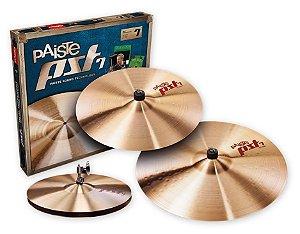 "Kit Prato 14"" ,16"",20"" Paiste Pst7  Universal"