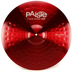 "Prato Paiste Color Sound 900 Heavy Ride 20"" Red"