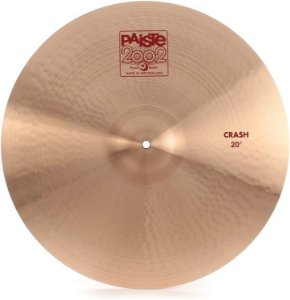 PRATO PAISTE 2002 CRASH 20""