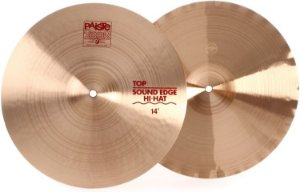 PRATO PAISTE 2002 SOUND EDGE HI HAT 14""