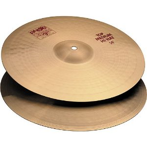 PRATO PAISTE 2002 MEDIUM HI HAT 14""
