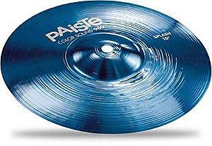 "Prato Paiste Color Sound 900 Splash 10"" Blue"