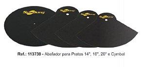 KIT ABAFADOR DE PRATOS SPANKING (RIDE,CRASH , HI-HAT)