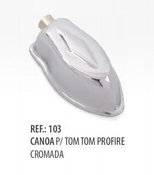 Canoa para Tom ,Surdo ou Bumbo Pro Fire  19.3 by Spanking