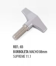 Borboleta Macho Supreme 8 mm Spanking 11.1