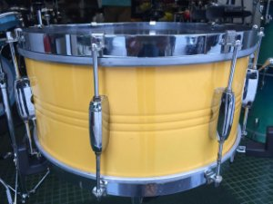 "Caixa CR Rústico Drum Metal  14""x6,5"""