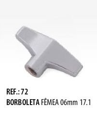 Borboleta Fêmea Supreme 6 mm Spanking 17.1
