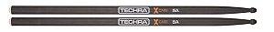 Baqueta Techra 5A  XCarbo  Fibra de Carbono