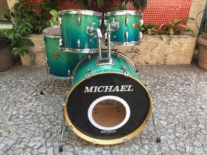 Bateria Michael Classic Maple Lacquer Shell Pack