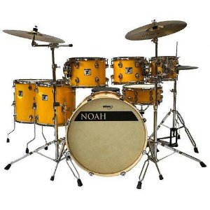 BATERIA NOAH TC7 SOLID YELLOW