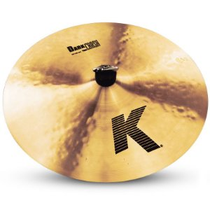 PRATO ZILDJIAN K CUSTOM DARK CRASH 16""