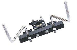 Mini Rack para Percussão 2 hastes Torelli Preto TA-452