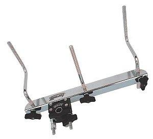 Mini Rack para Percussão 3 hastes Torelli Cromado TA-403