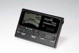 Metrônomo Afinador Digital 3 Em 1 Cherub T80