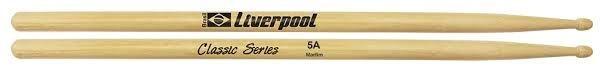 Baqueta Liverpool Classic Series Marfim (Padrão 5A) LL-5AM