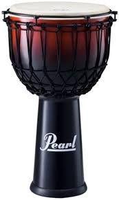 """Djembe Pearl  Ez Tune Rope Fiber 14"""" PJF-350RX632"""