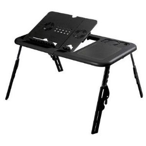 Mesa p/ Notebook - A Sys - E-Table - Preta