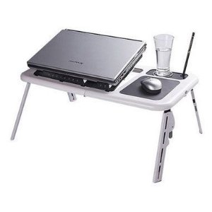 Mesa p/ Notebook - A Sys - E-Table - Branca