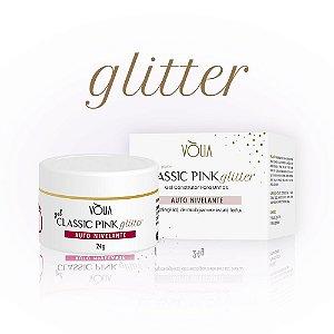 Gel Classic Pink Glitter 24g - Volia