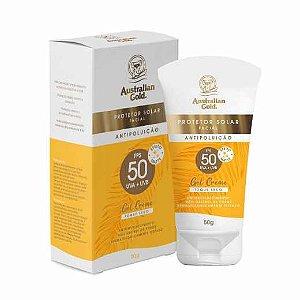 Protetor Solar Facial Antipoluição FPS50 Toque Seco 50g - Australian Gold