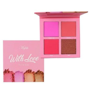 Paleta de Blushes With Love 4 Cores - My Life
