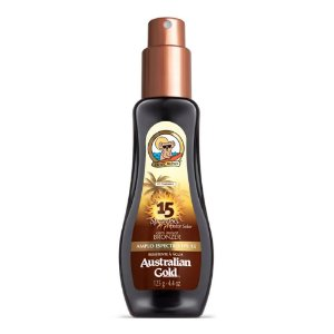 Spray Gel Com Instant Bronzer FPS 15 125ml - Australian Gold