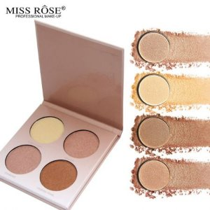 Miss Rose Paleta de Iluminadores Glow Kit - 02