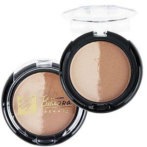 Blush Duo Iluminador e Bronzeador Bitarra Beauty - Cor 21