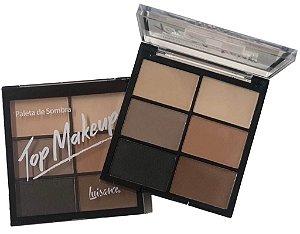 Paleta de Sombras Top Makeup Cor B - Luisance