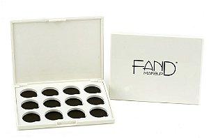 Paleta Magnética com 12 Cavidades - Fand Makeup