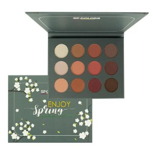 Paleta de Sombras com 12 Cores Enjoy Spring - Sp Colors