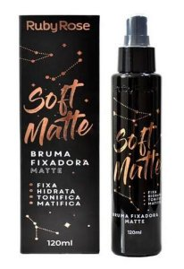 Bruma Fixadora Soft Matte 120ml - Ruby Rose
