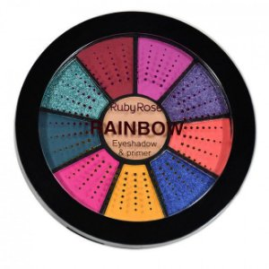 Mini Paleta de Sombras Rainbow - Ruby Rose