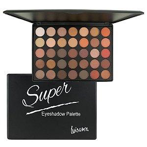 Paleta de Sombras 35 Cores Super Eyeshadow - Luisance