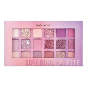 Paleta de Sombras Soft Nude Feels - Ruby Rose