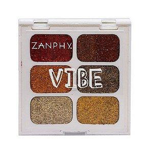 Paleta de Glitter Linha Vibe 03 - Zanphy
