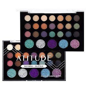 Paleta de Sombra e Glitter Atitude B - Sp Colors