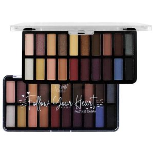 Paleta de Sombra 20 Cores Follow Your Heart B - City Girls