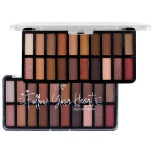 Paleta de Sombra 20 Cores Follow Your Heart A - City Girls