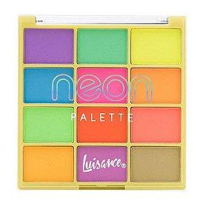 Paleta de Sombras Neon Palette - Luisance