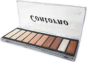 Paleta de Contorno 10 Cores - Bitarra Beauty