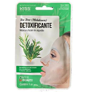 Máscara Facial Detoxificante Tea Free - Kiss NY
