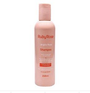 Shampoo Argila Rosa - Ruby Rose