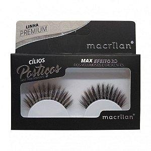 Cílios Postiços Max Efeito 3D CL5-1 - Macrilan