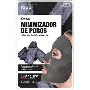 Máscara Facial Carvão Minimizador de Poros - Kiss NY