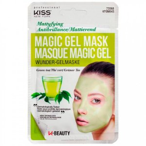 Máscara Facial Magic Gel Chá Verde - Kiss NY